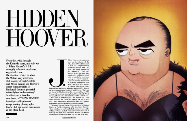 Article Preview: HIDDEN HOOVER, March 1993 1993 | Vanity Fair