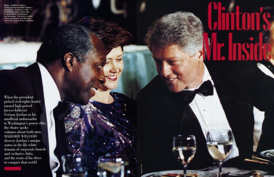 Clinton's Mr. Inside