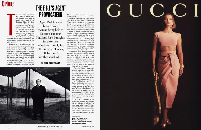 Article Preview: THE F.B.I.'S AGENT PROVOCATEUR, April 1993   Vanity Fair