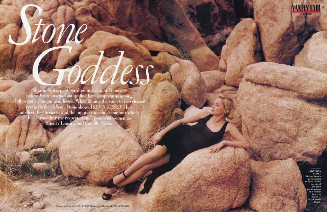 Article Preview: Stone Goddess, April 1993 1993 | Vanity Fair