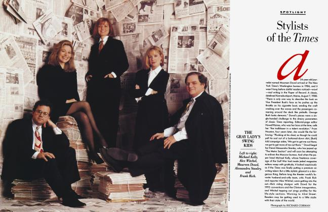 Article Preview: Stylists of the Times, April 1993 1993 | Vanity Fair