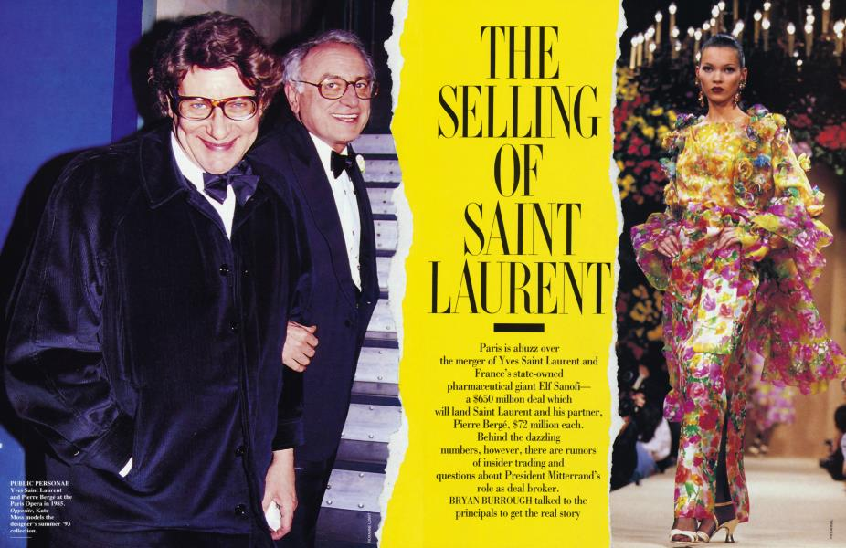 THE SELLING OF SAINT LAURENT