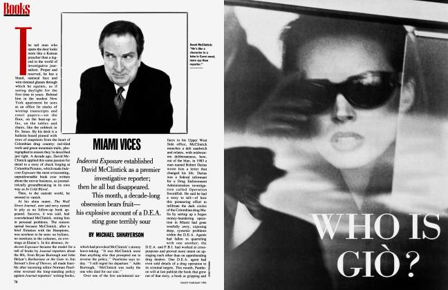 Article Preview: MIAMI VICES, May 1993 1993 | Vanity Fair