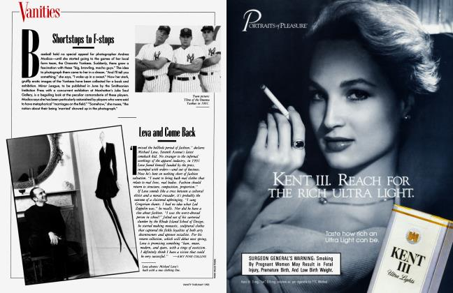 Article Preview: Leva and Come Back, May 1993 1993 | Vanity Fair