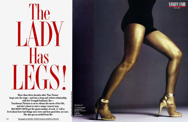 Article Preview: The LADY Has LEGS!, May 1993 1993 | Vanity Fair