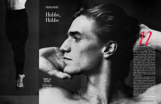 Article Preview: Hübbe, Hübbe, May 1993 1993   Vanity Fair