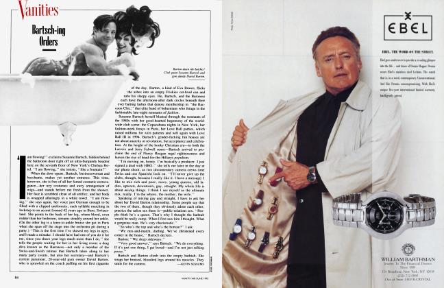 Article Preview: Bartsch-ing Orders, June 1993 1993 | Vanity Fair