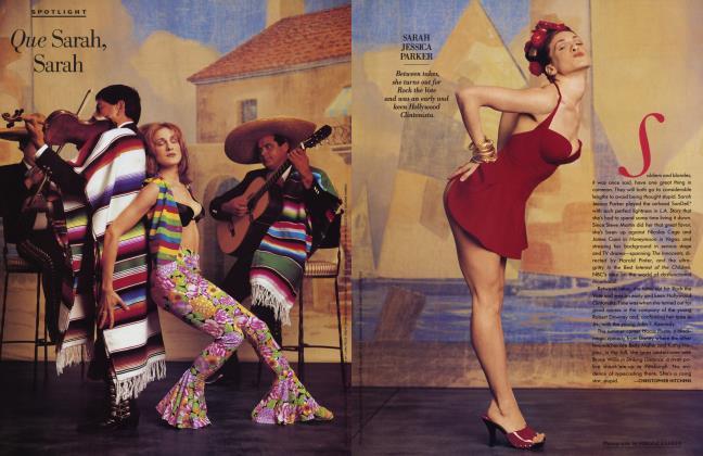 Article Preview: Que Sarah, Sarah, June 1993 1993 | Vanity Fair