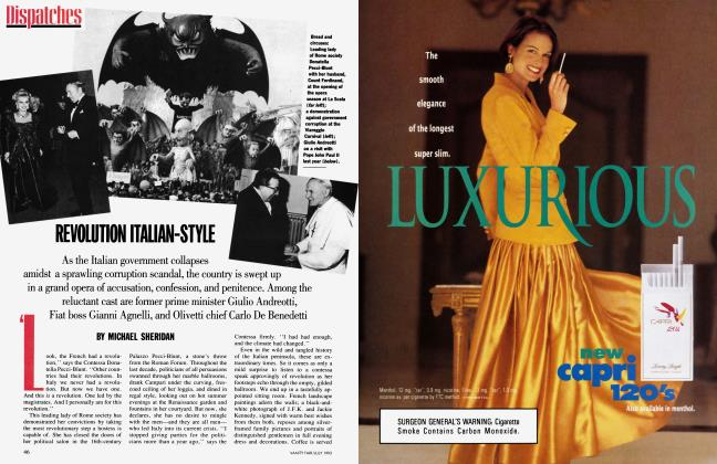 Article Preview: REVOLUTION ITALIAN-STYLE, July 1993   Vanity Fair