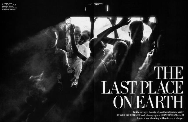 Article Preview: THE LAST PLACE ON EARTH, July 1993 1993 | Vanity Fair