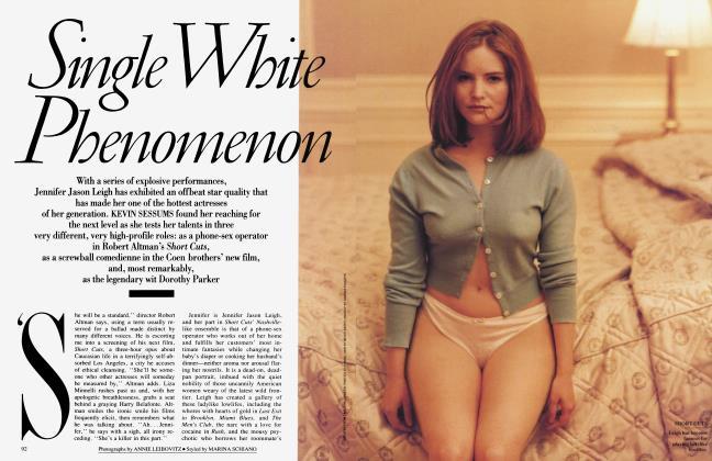 Article Preview: Single White Phenomenon, July 1993 1993 | Vanity Fair