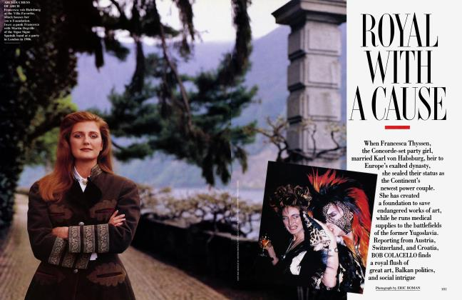 Article Preview: ROYAL WITH A CAUSE, July 1993 1993 | Vanity Fair