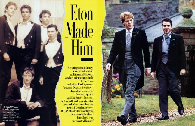 Article Preview: Eton Made Him, July 1993 1993 | Vanity Fair