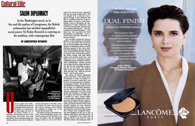Article Preview: SALON DIPLOMACY, August 1993 1993 | Vanity Fair