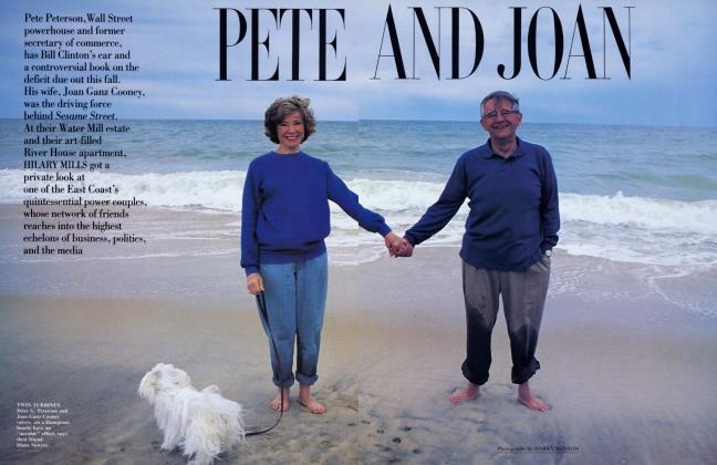 Article Preview: PETE AND JOAN, August 1993 1993 | Vanity Fair
