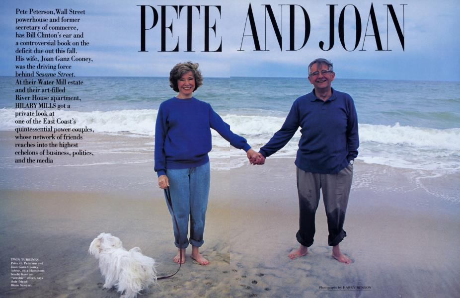 PETE AND JOAN