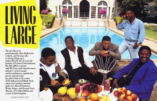 Article Preview: LIVING LARGE, September 1993 | Vanity Fair