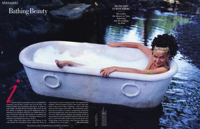 Article Preview: Bathing Beauty, September 1993 1993 | Vanity Fair