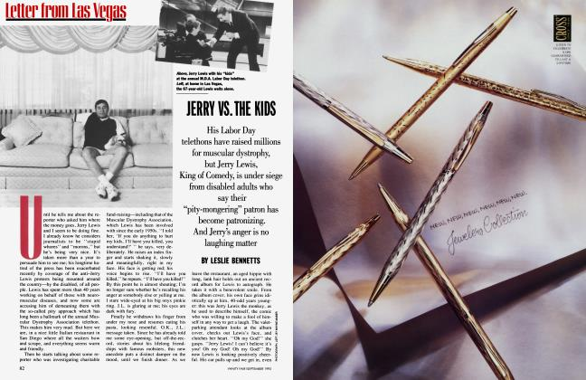 Article Preview: JERRY VS. THE KIDS, September 1993 1993 | Vanity Fair
