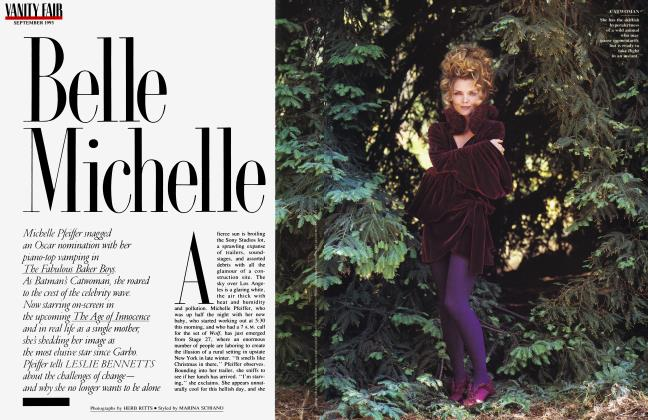 Article Preview: Belle Michelle, September 1993 1993 | Vanity Fair