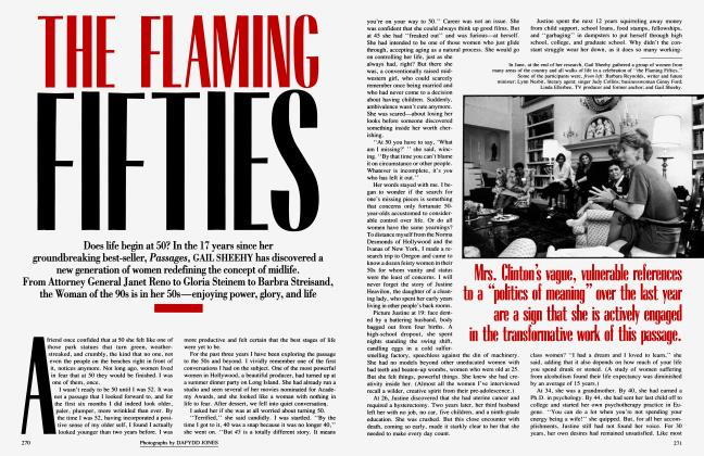 Article Preview: THE FLAMING FIFTIES, October 1993 | Vanity Fair