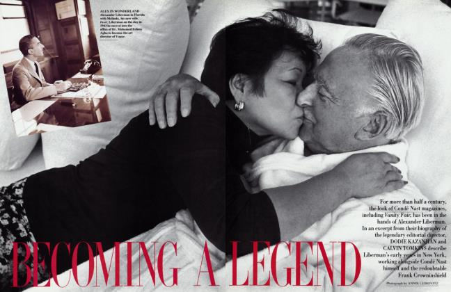 Article Preview: BECOMING A LEGEND, October 1993 1993 | Vanity Fair