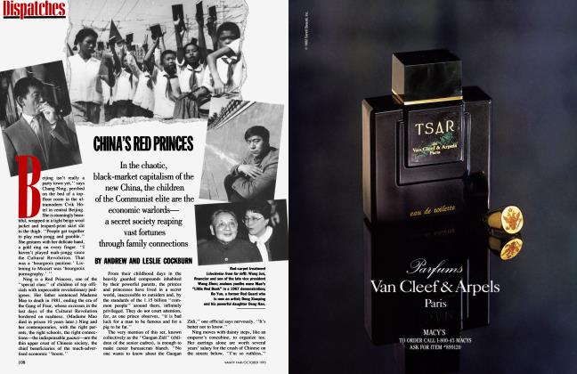 Article Preview: CHINA'S RED PRINCES, October 1993 | Vanity Fair