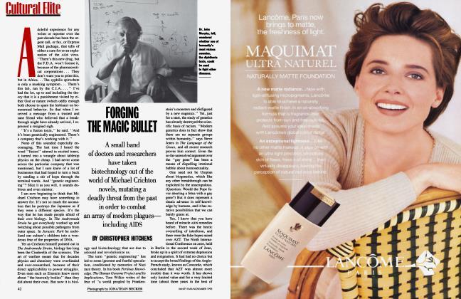 Article Preview: FORGING THE MAGIC BULLET, November 1993 1993 | Vanity Fair