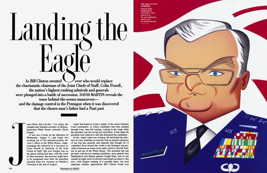 Landing the Eagle