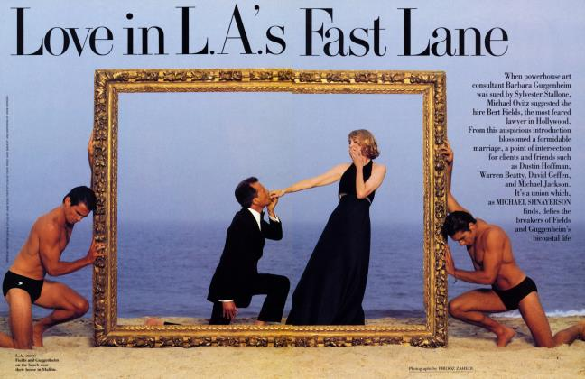 Article Preview: Love in L.A.'s Fast Lane, December 1993 1993 | Vanity Fair