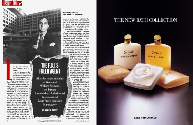 Article Preview: THE F.B.I.'S FREEH AGENT, December 1993 1993 | Vanity Fair