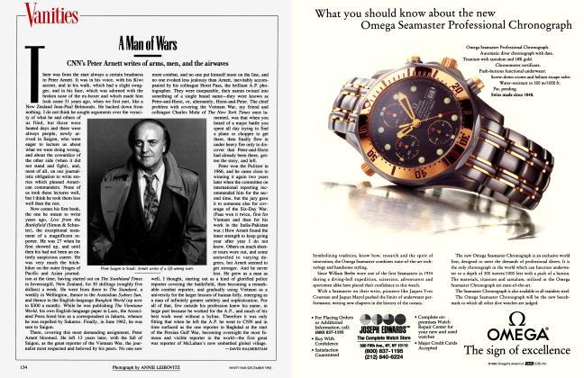 Article Preview: A Man of Wars, December 1993 1993   Vanity Fair