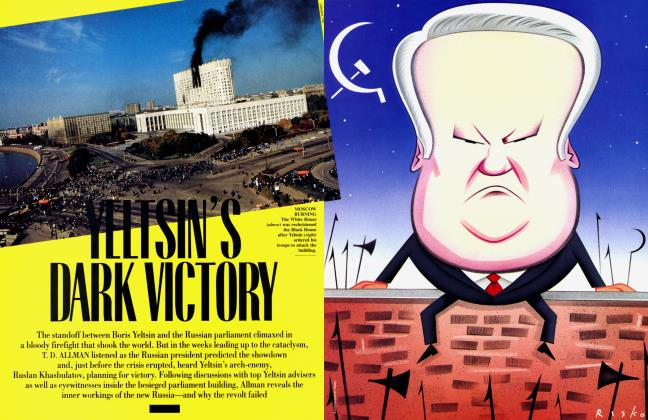 Article Preview: YELTSIN'S DARK VICTORY, December 1993 1993 | Vanity Fair