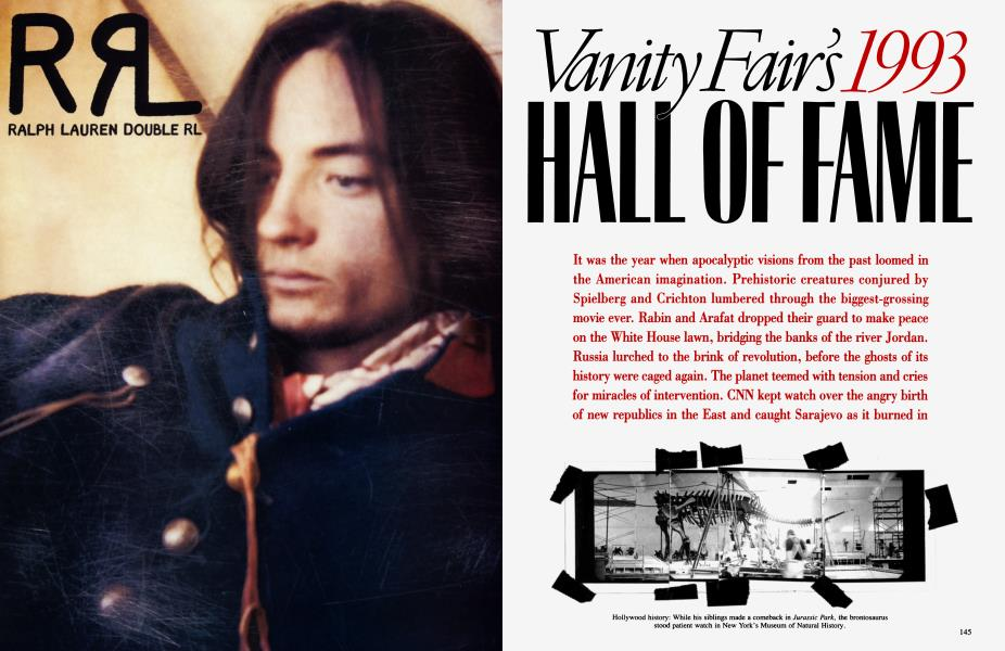 Vanity Fair's 1993 HALL OF FAME