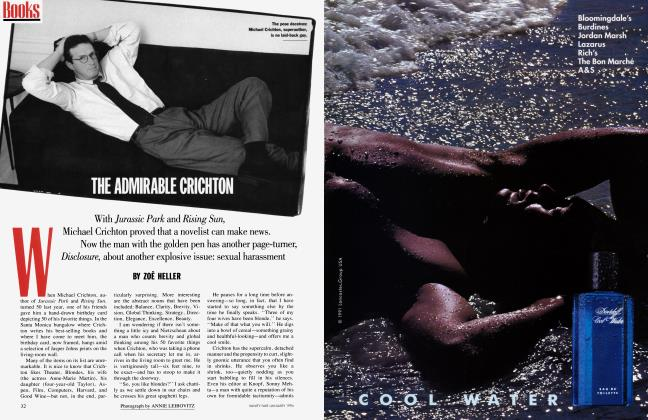 Article Preview: THE ADMIRABLE CRICHTON, January 1994 | Vanity Fair
