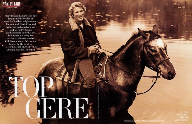 Article Preview: TOP GERE, January 1994 1994 | Vanity Fair
