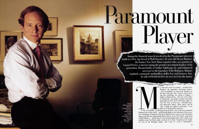 Article Preview: Paramount Player, January 1994 1994 | Vanity Fair