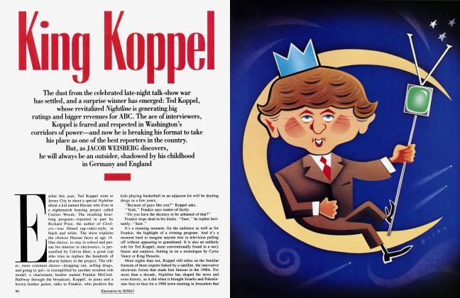 Article Preview: King Koppel, January 1994 | Vanity Fair