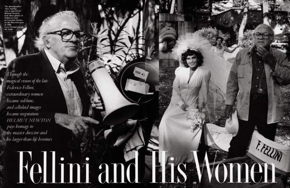 Fellini and His Women