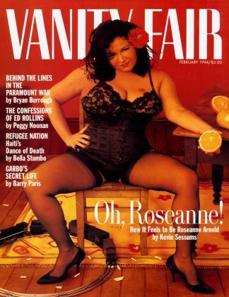 February 1994 | Vanity Fair