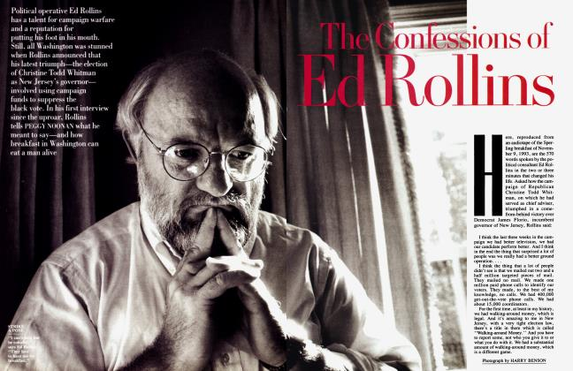 Article Preview: The Confessions of Ed Rollins, February 1994 1994   Vanity Fair