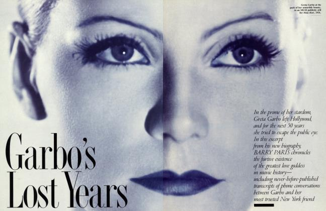 Article Preview: Garbo's Lost Years, February 1994 1994 | Vanity Fair