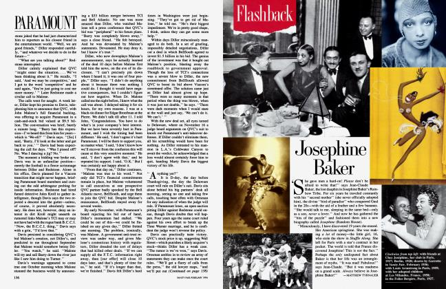 Article Preview: Josephine Baker, February 1994 1994 | Vanity Fair