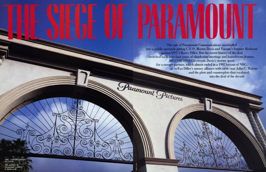 THE SIEGE OF PARAMOUNT