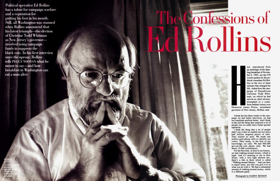 The Confessions of Ed Rollins