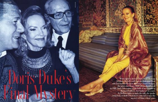 Doris Duke's Final Mystery - March | Vanity Fair