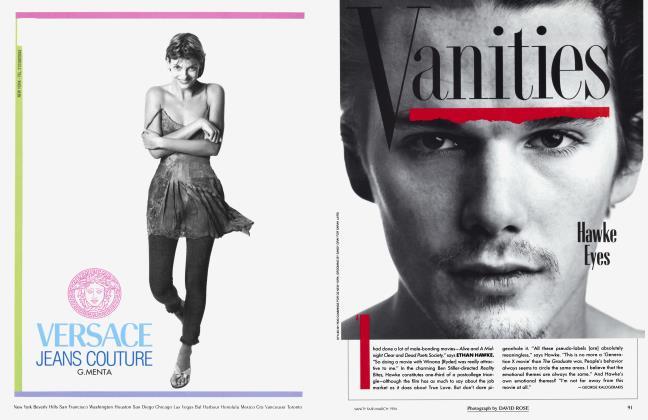 Article Preview: Hawke Eyes, March 1994 1994 | Vanity Fair