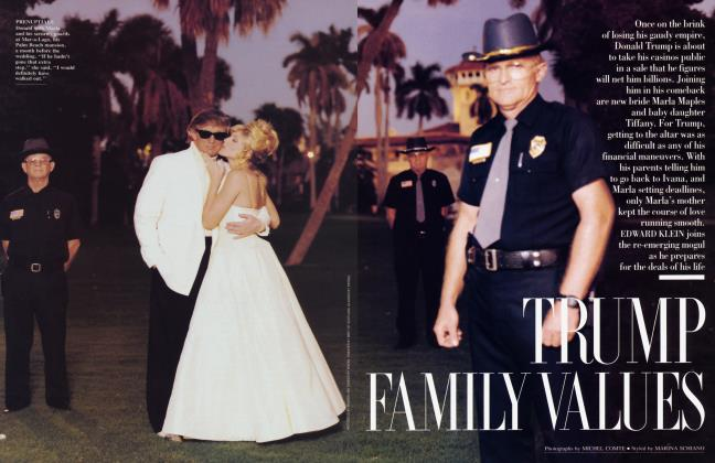 Article Preview: TRUMP FAMILY VALUES, March 1994 1994 | Vanity Fair