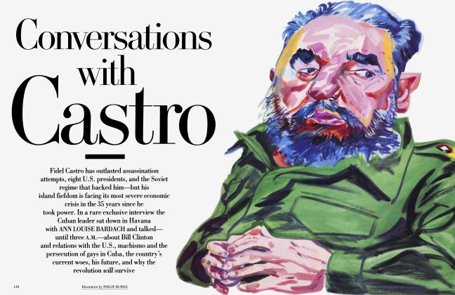 Article Preview: Conversations with Castro, March 1994 1994 | Vanity Fair