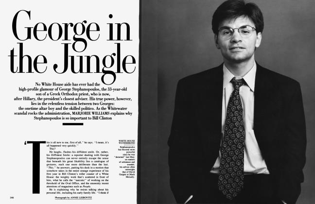 Article Preview: George in the Jungle, March 1994 1994 | Vanity Fair
